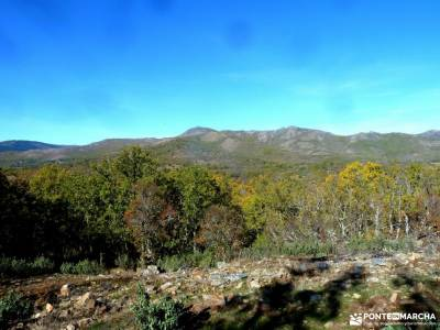Sierra del Rincón-Río Jarama; puig campana senderismo refugio collado jermoso trekking pirineos